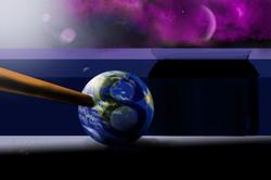 Weltraumbillard