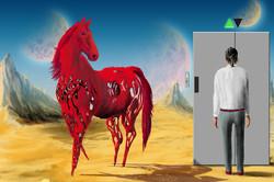 Herr B. und das rote Pferd