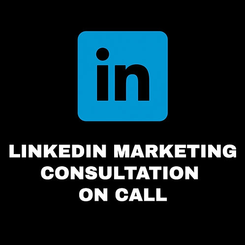 LINKEDIN MARKETING CONSULTATION
