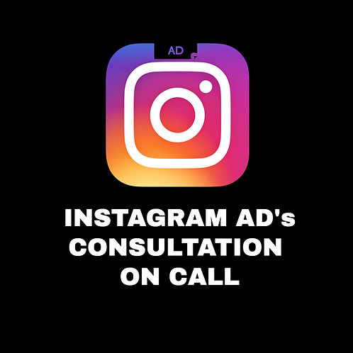 INSTAGRAM ADS CONSULTATION