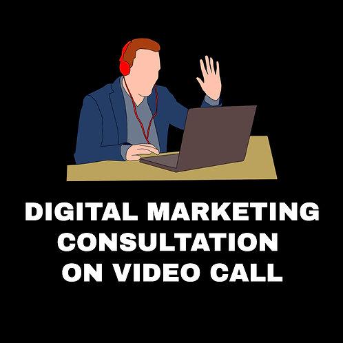 DIGITAL MARKETING ON VIDEO CALL CAREER CONSULTATION
