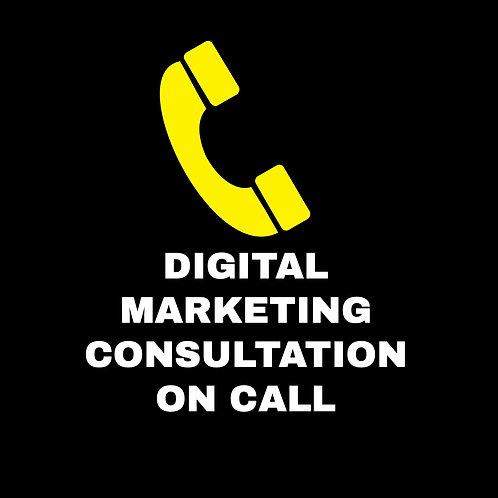 DIGITAL MARKETING ON CALL CAREER CONSULTATION