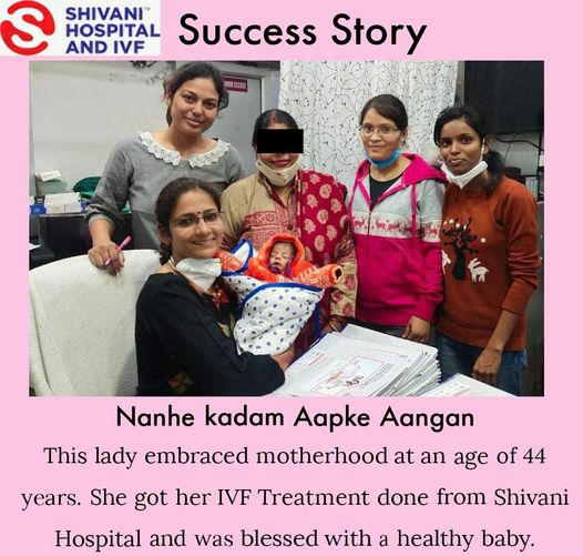 IVF Success Story of a 44 year old female