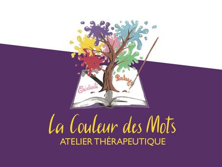 Ré-ouverture de l'atelier thérapeutique La couleur des mots et nouvelles