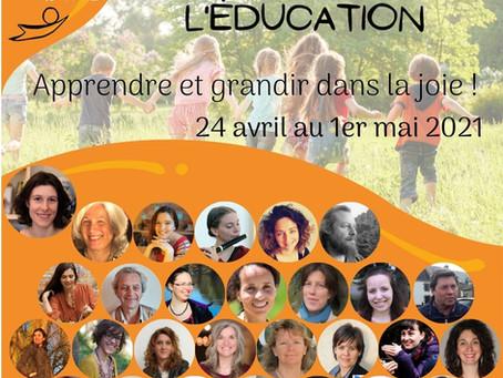 Participation au Sommet de l'éducation:  Apprendre et grandir dans la joie