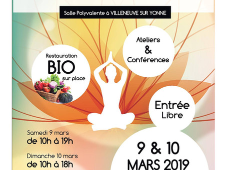 Salon mieux-être et bio de Villeneuve sur Yonne
