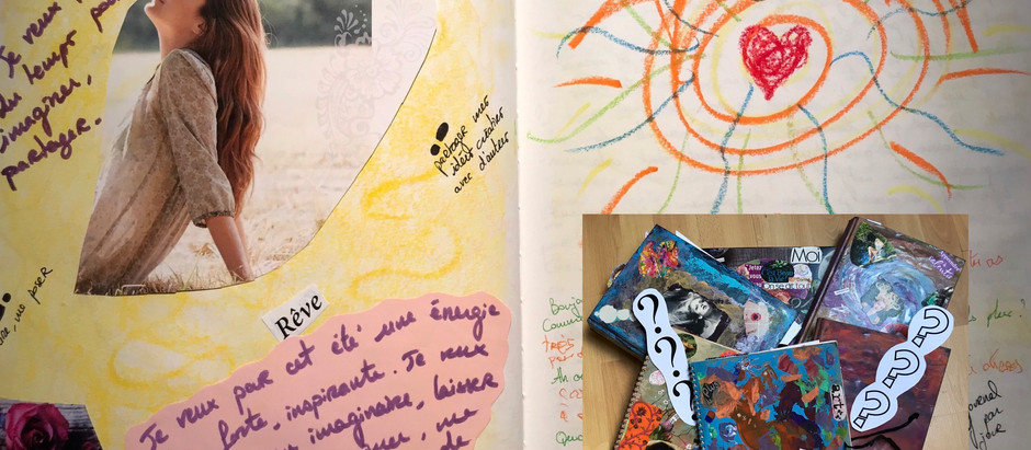Découverte du journal créatif - Atelier spécial été !