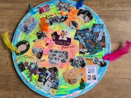 Rétrospective des actions menées par l'atelier La couleur des mots