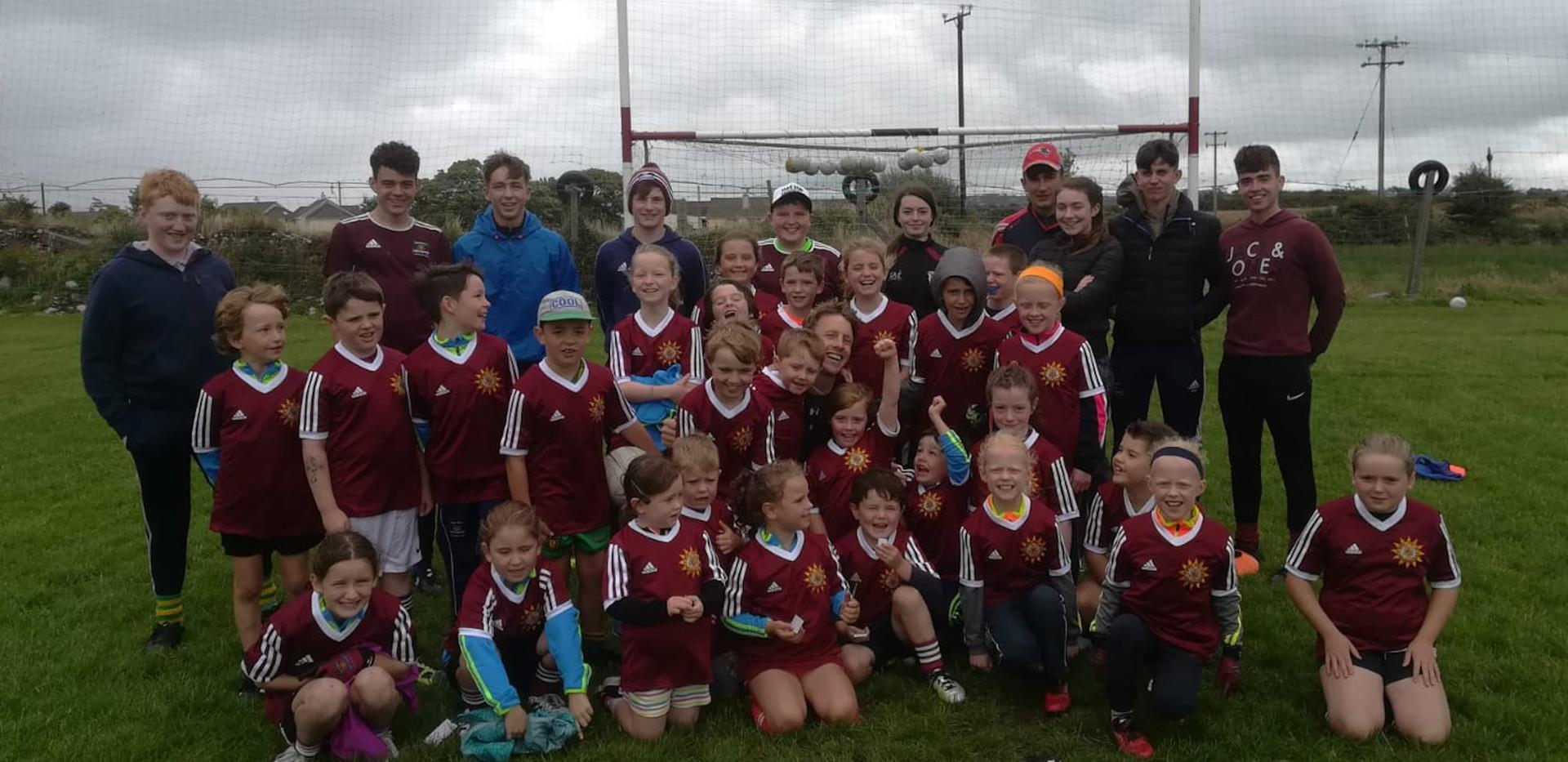 Cromane GAA summer camp 2018