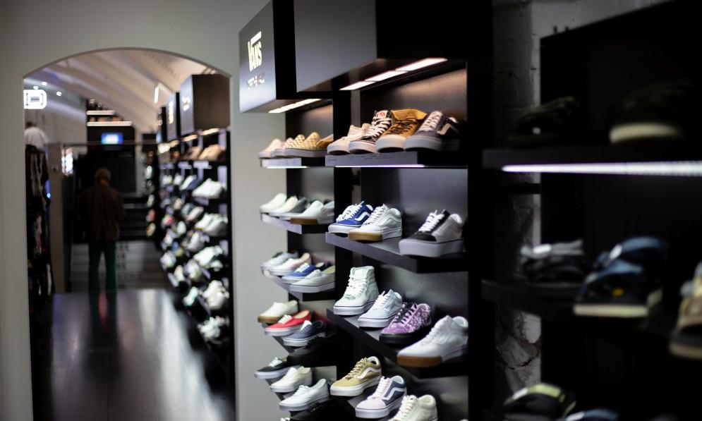 Sneakers in Loaded NZ store