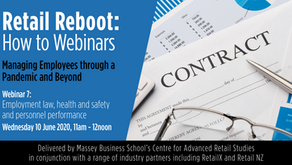 Retail Reboot: How to Webinar 7 - Managing employees through a pandemic and beyond