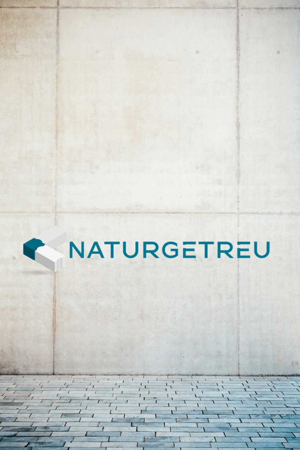 Logogestaltung Naturgetreu- Grafikdesign K