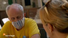 ZDF: die reportage - Mit Maske nach Mallorca