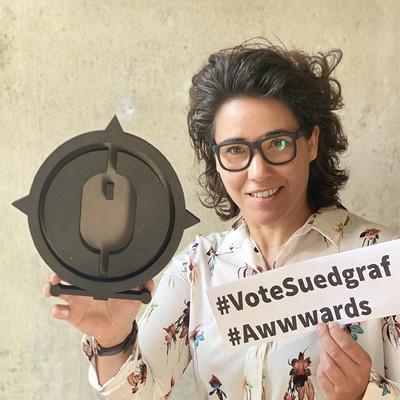 Südgraf ist nominiert für den renommierten Webdesigner-Preis aWWWards.