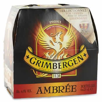 GRIMBERGEN Bière ambrée  D'Abbaye