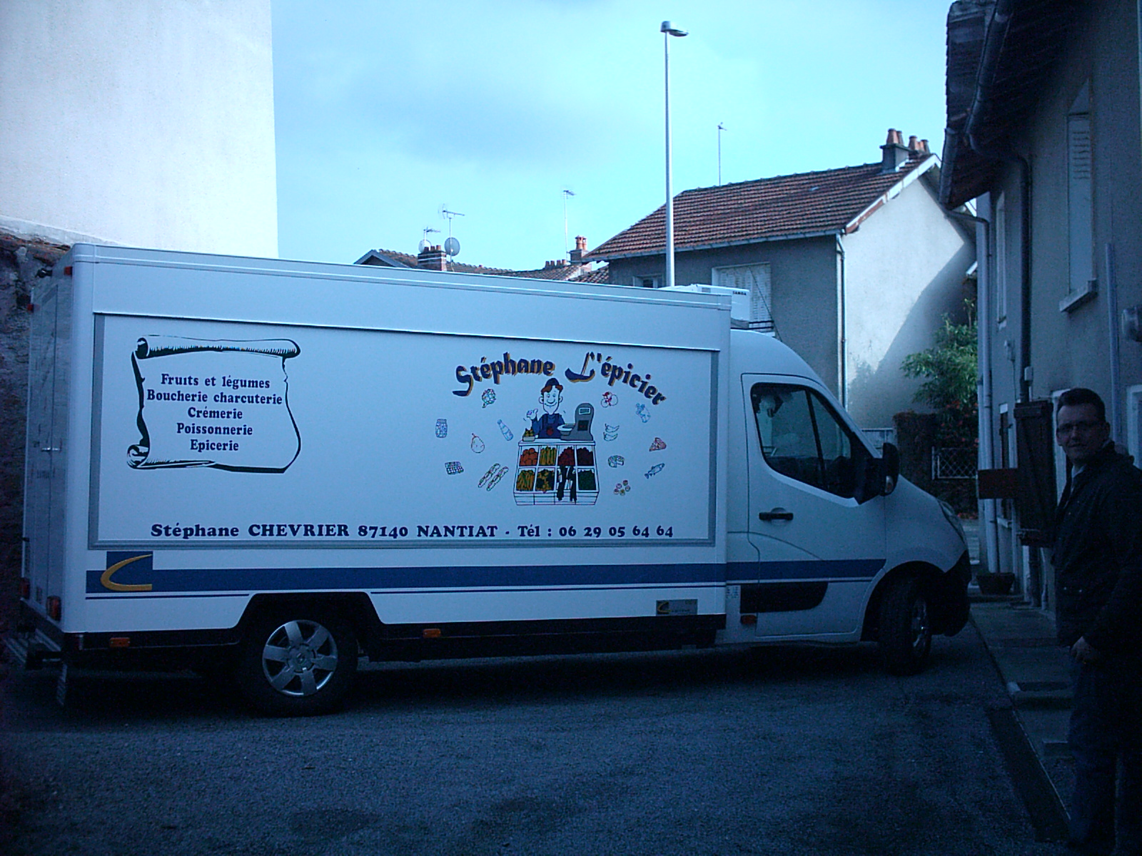 camion magasin