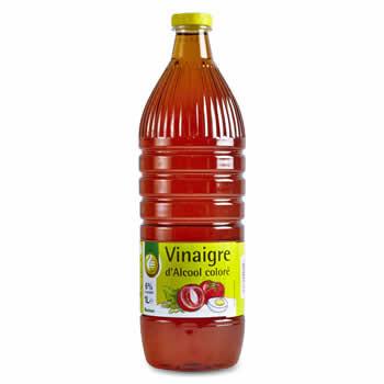 Vinaigre d' alcool coloré  - 1L