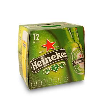 HEINEKEN Bière Blonde  Premium 12x33cl