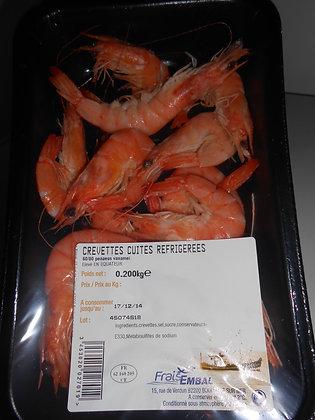 Crevettes cuites réfrigerées