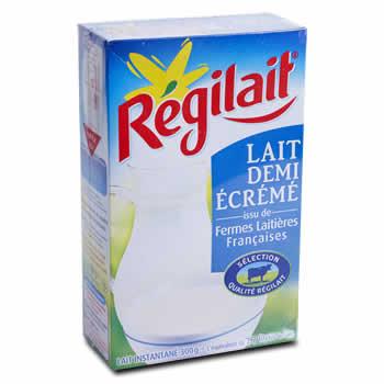 REGILAIT Lait demi-écrémé en poudre Issu de fermes