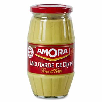 AMORA Moutarde fine et forte de Dijon