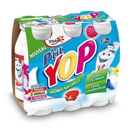 YOPLAIT - P'TIT YOP  Fraise, Vanille, framboise