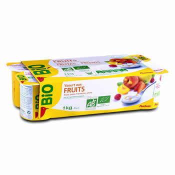 BIO Yaourts aux fruits 3.5% M.G.