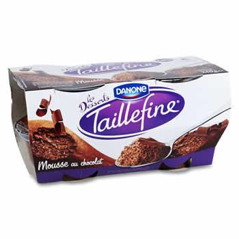 TAILLEFINE Mousse au Chocolat 1,9% M.G.