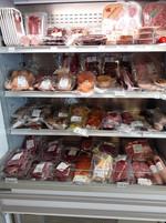 vitrine viandes et plats préparés