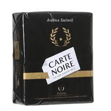 Carte NOIRE standard 2 x 250g
