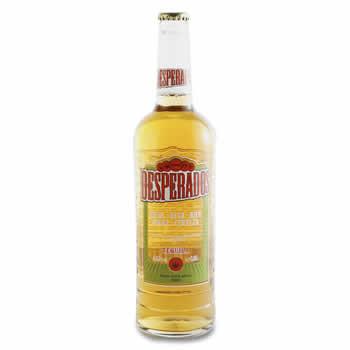 DESPERADOS Bière aromatisée à la Tequila