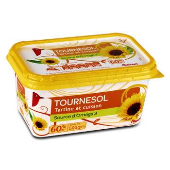 Margarine au tournesol 500g