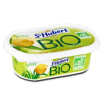 ST HUBERT Margarine bio 58% de M.G. 250g