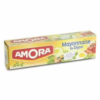 AMORA Mayonnaise de Dijon au tournesol 175 g