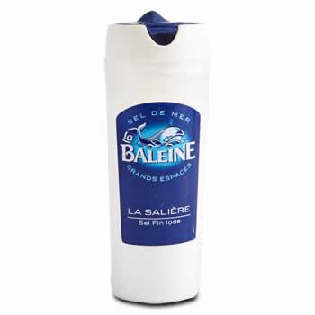 LA BALEINE Sel de mer fin iodé 125 g