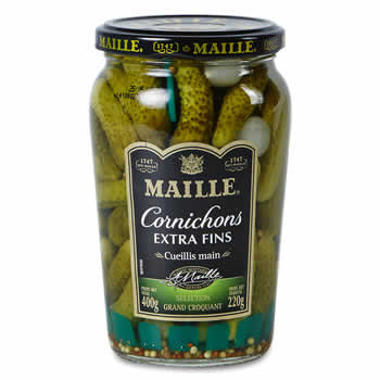 MAILLE Cornichons extra fins 220 g