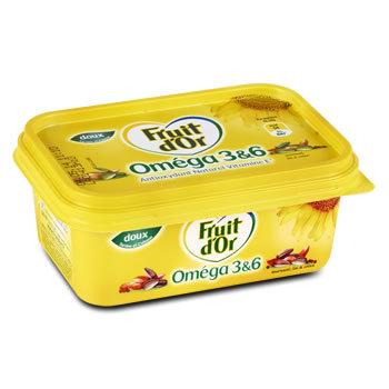 FRUIT D'OR Margarine allégée doux 250g
