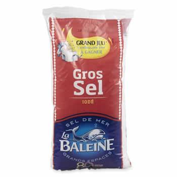 LA BALEINE Gros sel 1 kg