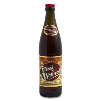 MICHARD Bière ambrée - Alc % vol : 0,5%