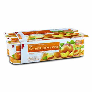 AUCHAN Yaourts aux fruits