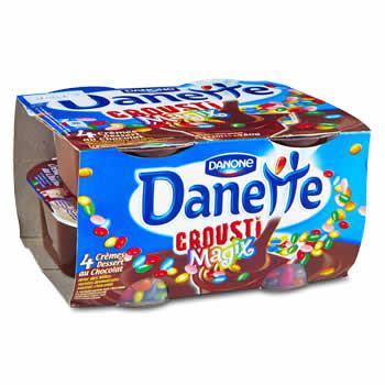 DANETTE Crèmes desserts  4 x 125g