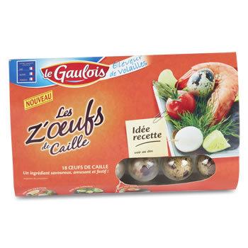 LE GAULOIS Oeufs de Caille cru 220 g