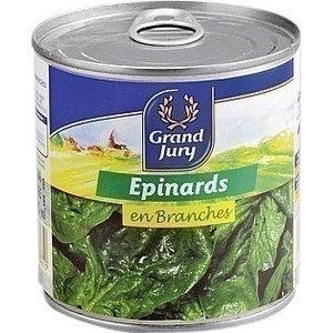 Epinards en Branches CHAVILLE 1/2