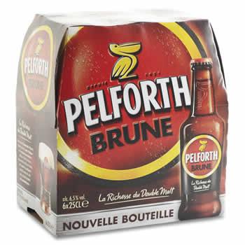 PELFORTH Bière brune 6 x 25cl