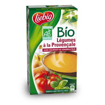 LIEBIG - BIO Soupe de légumes à la provençale