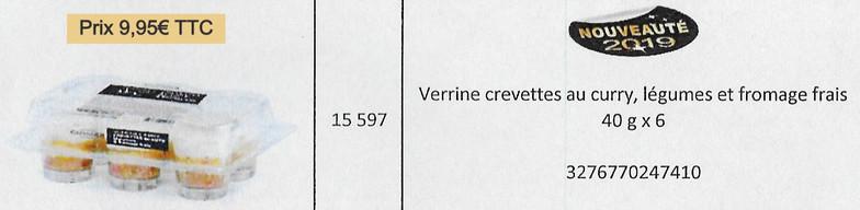Verrine crevettes_curry_lég._fr.frais