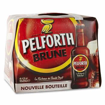 PELFORTH Bière brune 12 x 25cl
