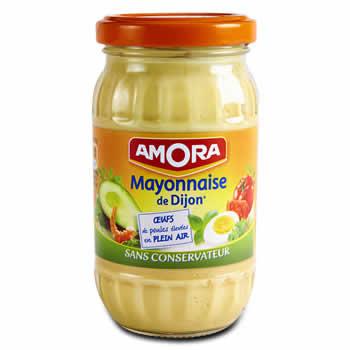 AMORA Mayonnaise de Dijon Sans conservateur 470 g