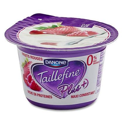 TAILLEFINE - PLUS Yaourt Fruits Rouges 0%
