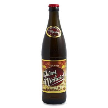 Bière blonde - Alc % vol : 0,5